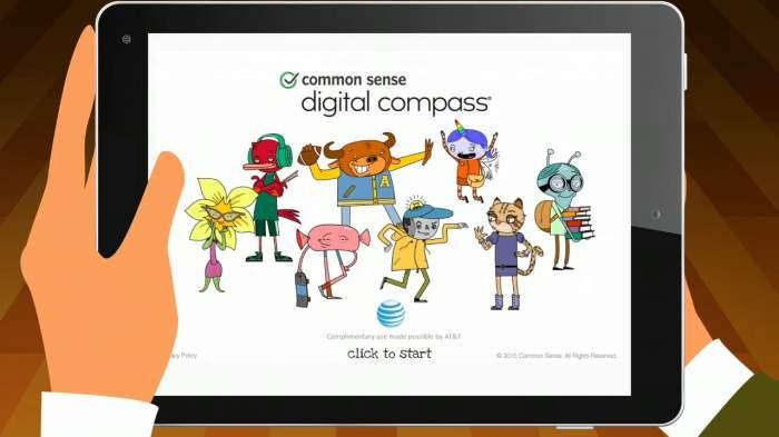 common sense digital compass