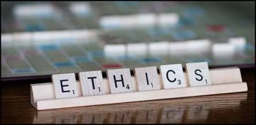 Ethics Scrabble