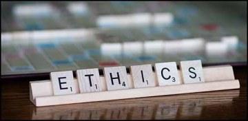 Ethics Scrabble