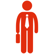 Salesman icon