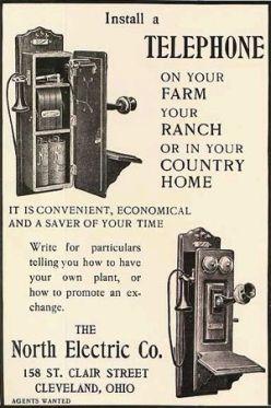 Vintage Phone Ad