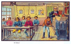 Antique vision of a future school