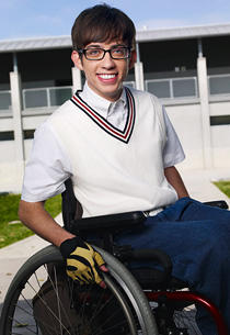 Kevin mchale in Glee