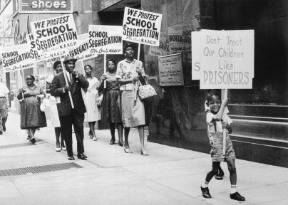 The St. Louis Board of Education was picketed by the NAACP on July 27, 1963