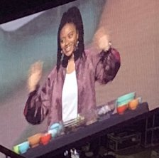 Haile Thomas at WE Day