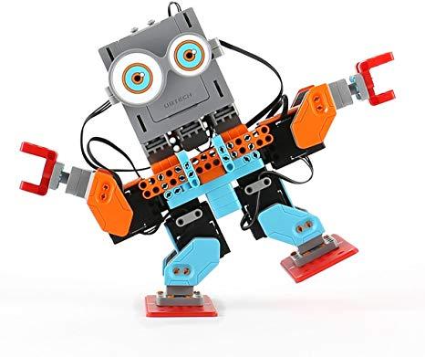 Jimu humanoid robot dancing