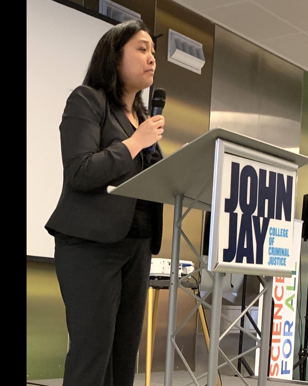 Linda Chen speaking