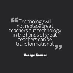 Technology will never replace great teachers, but technology in the hands of a great teacher can be transformational.