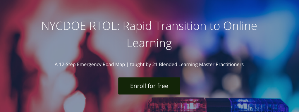 NYCDOE RTOL: Rapid Transition to Online Learning