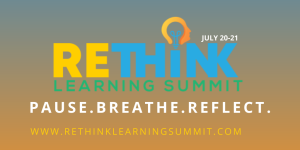 Rethink Learning Summit Logo