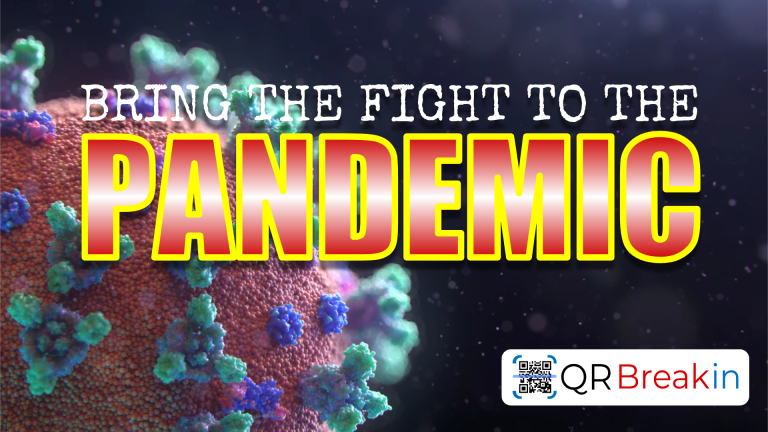 Fight the Pandemic QR BreakIn